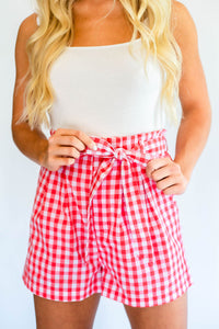Perfectly Preppy Gingham Shorts