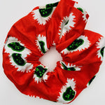 Calabar scrunchie red seeds