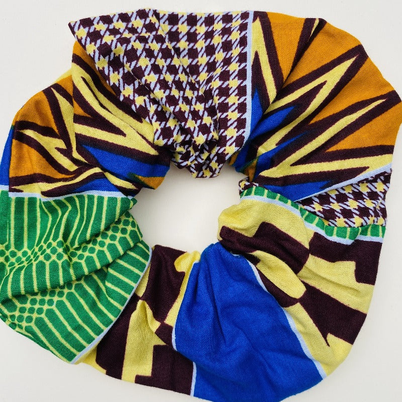 Calabar scrunchie large kente