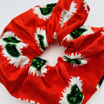 Calabar scrunchie red seeds, Scrunchie, mumutane