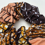 Calabar scrunchie retro