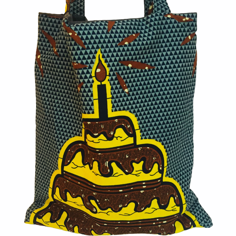 Ado tote bag birthday - mumutane
