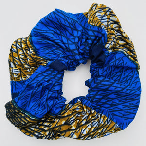Calabar scrunchie seashell