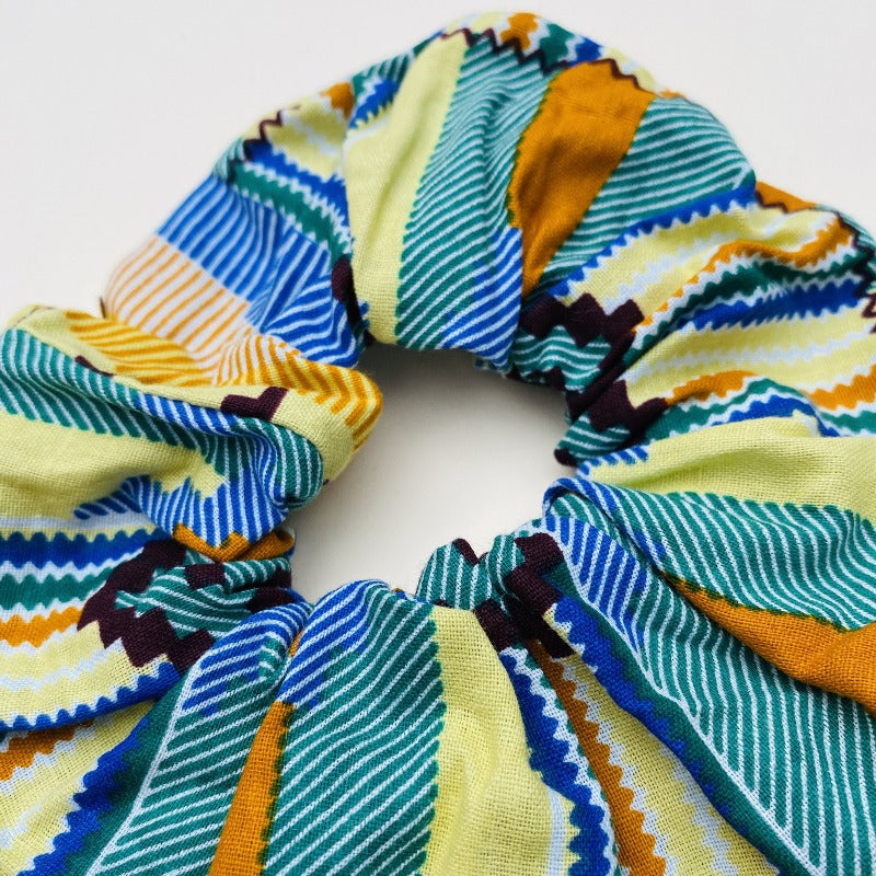 Calabar scrunchie small kente