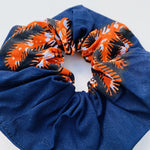 Calabar scrunchie twin tree red, Scrunchie, mumutane