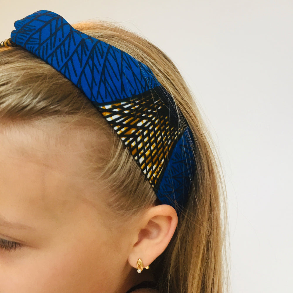 Turban headband kids sea shell
