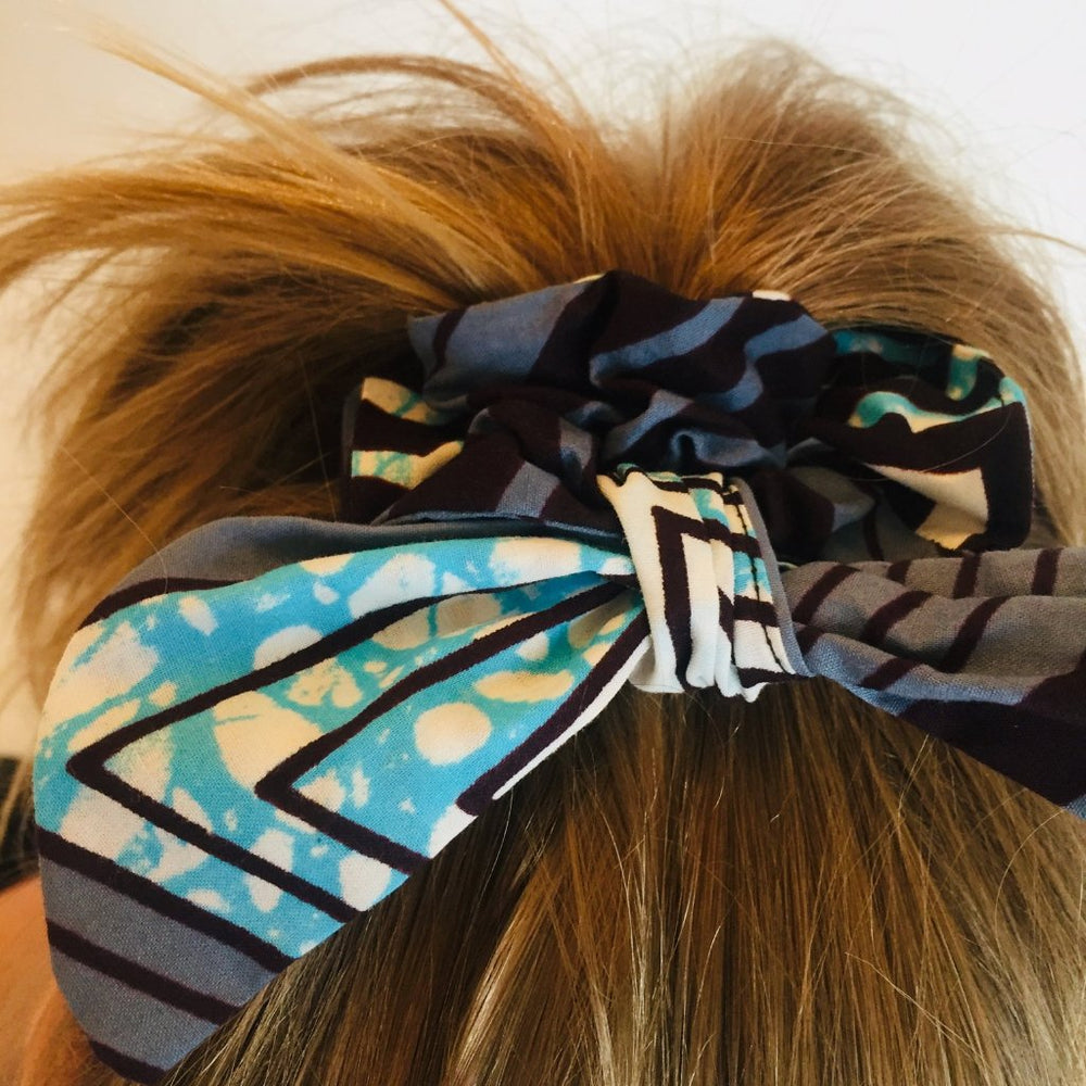 Minna scrunchie ears geometric, Scrunchie, mumutane