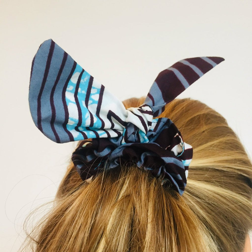 Minna scrunchie ears geometric