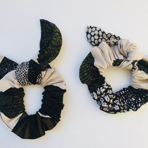 Minna scrunchie ears earth, Scrunchie, mumutane