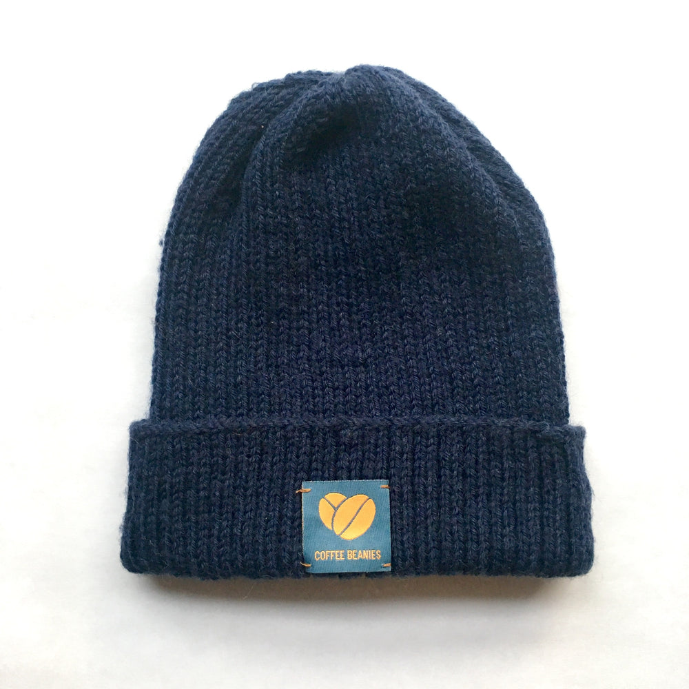 Coffee beanie peace marine