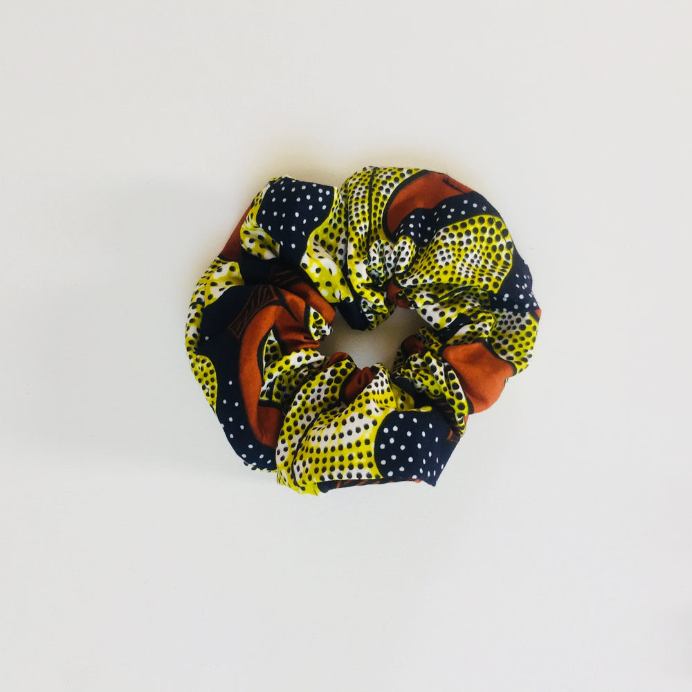 Calabar scrunchie oak leaves, Scrunchie, mumutane