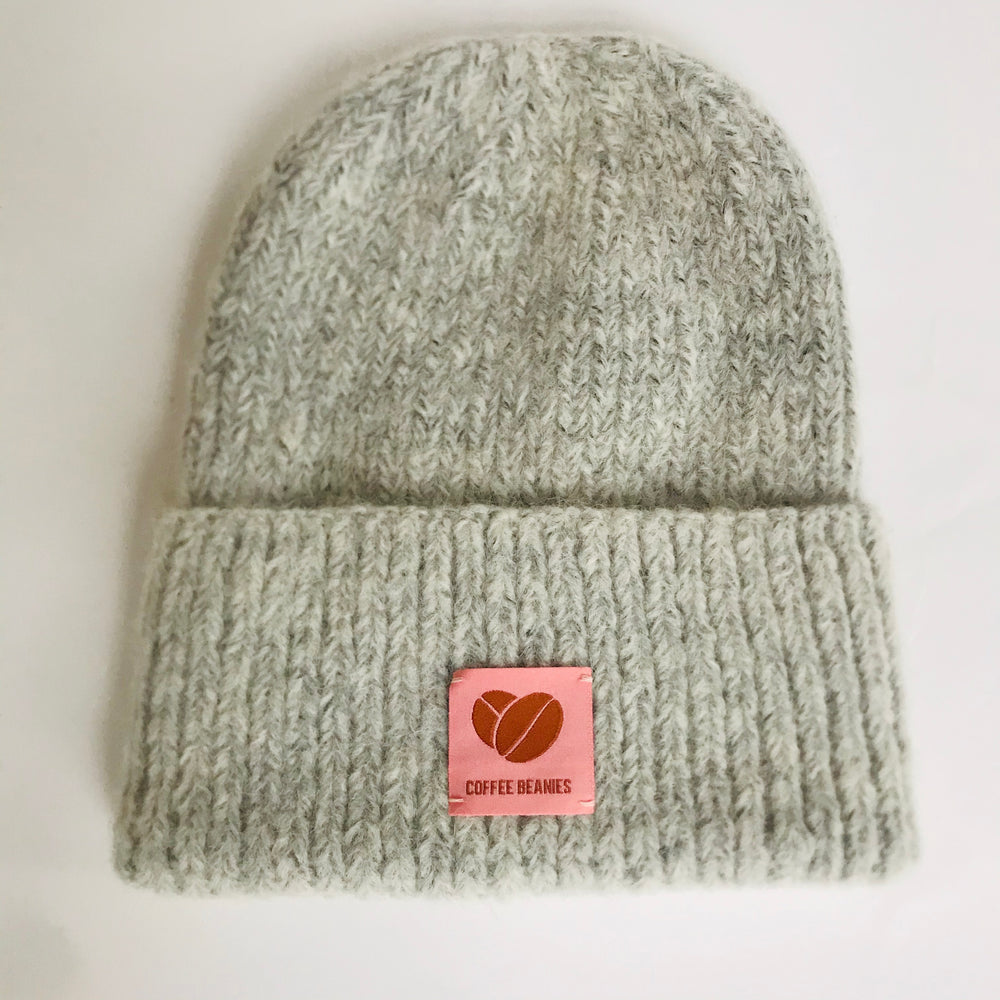 Coffee beanie sky grey