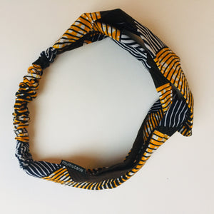 Turban headband ripples s/m, Turban headband, mumutane