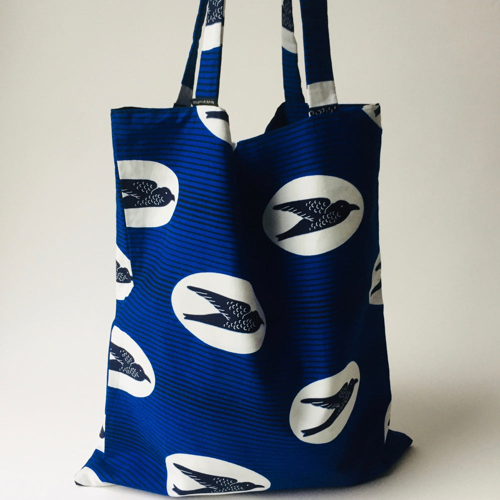 Ado tote bag blue birds