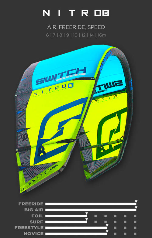 NITRO 6 Switch Kiteboarding