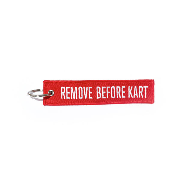 Llavero Remove Before Kart