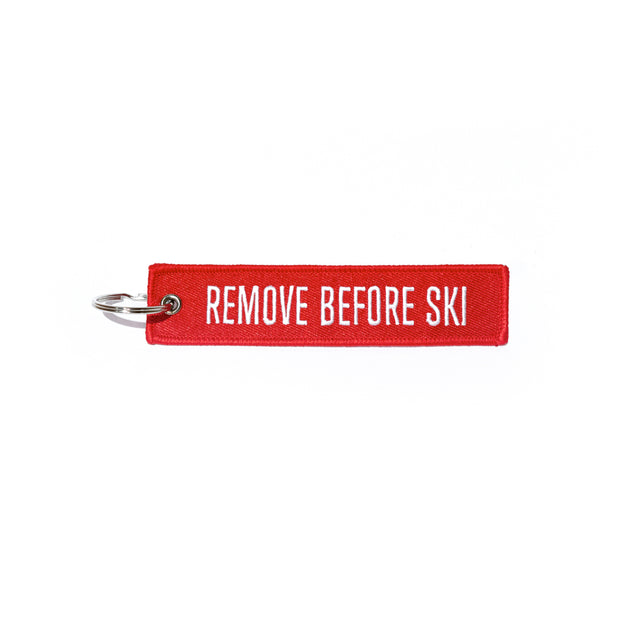 Llavero Remove Before Ski