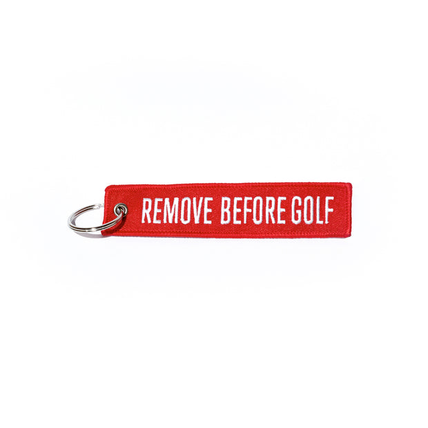 Llavero Remove Before Golf