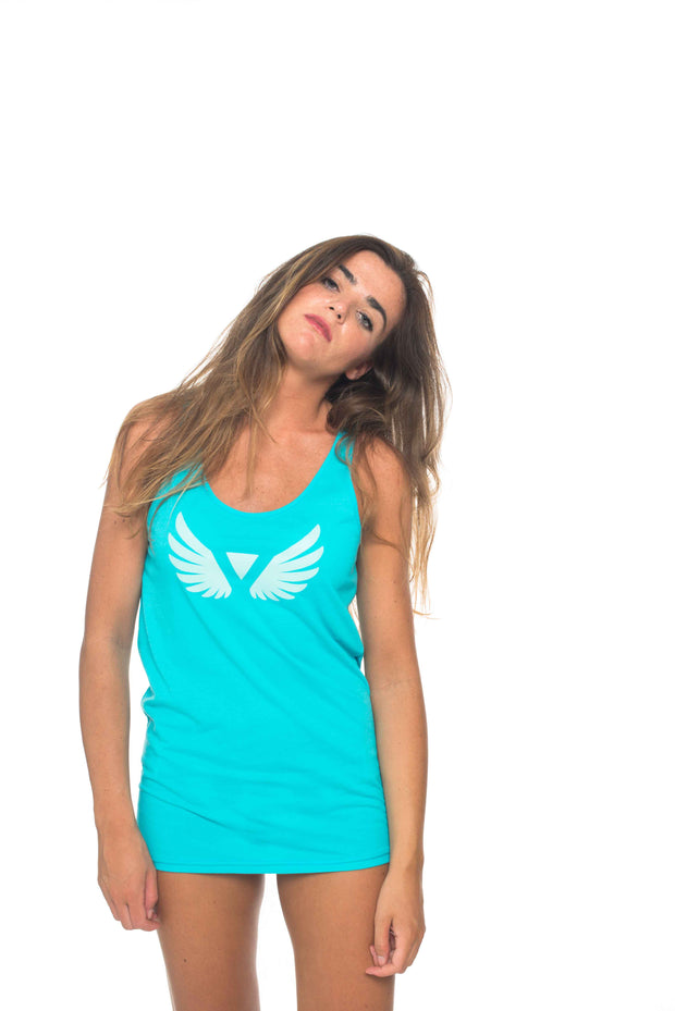 Wings turquoise