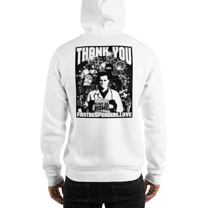 Thank You First Responders Hoodie - Limited Edition by Nikko Abando
