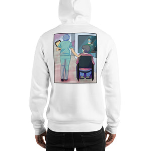 Nurse and Elderly Woman Limited Edition Hoodie
