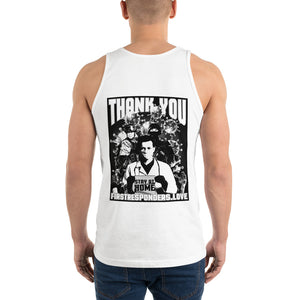 Nikko Abando Thank You First Responders Tank Top Back