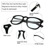 Blue Light Blocking Unisex Eyewear