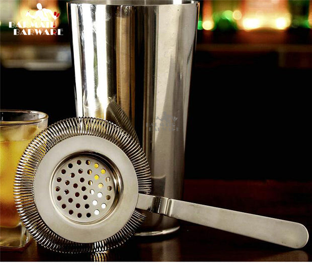 Stainless Steel Bar Cocktail Strainer