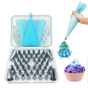 32pc Baking Decorating Pipping Nozzles Tip Set