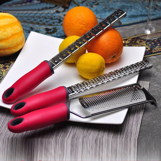 3pcs Stainless Steel Microplane Cheese/Lemon/ Chocolate Grater