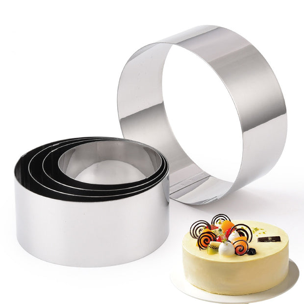 5PCS Stainless Steel Cake Ring