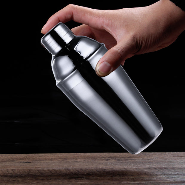 6Pcs 750ml Stainless Steel Cocktail Shaker Bar Set