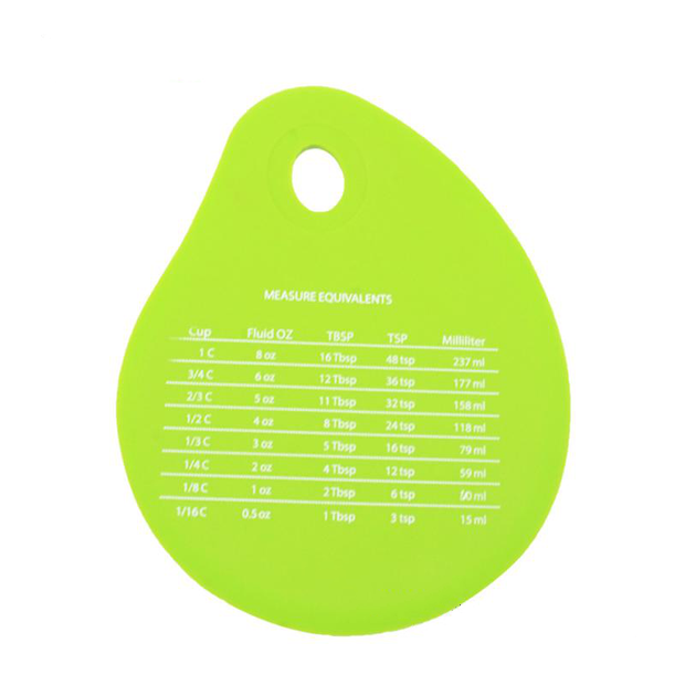 Silicone Bowl Scraper Measuring Unit