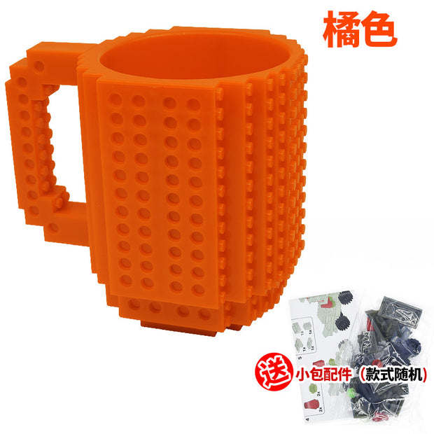 Creative 350ml Drinkware Building Blocks Mugs