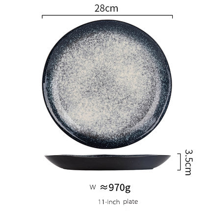 European Style Kiln Glazed Creative Plates
