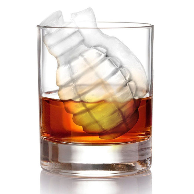 3D Grenade Shape Ice Cube Mold