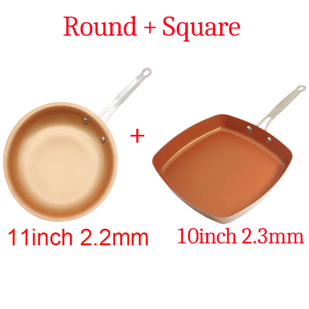 10' Non-stick Copper Frying Pan