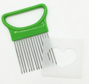 Stainless Steel Onion Slicer Vegetable Holder
