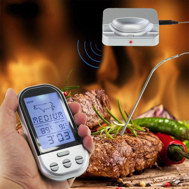 Wireless Digital Thermometer And Timer
