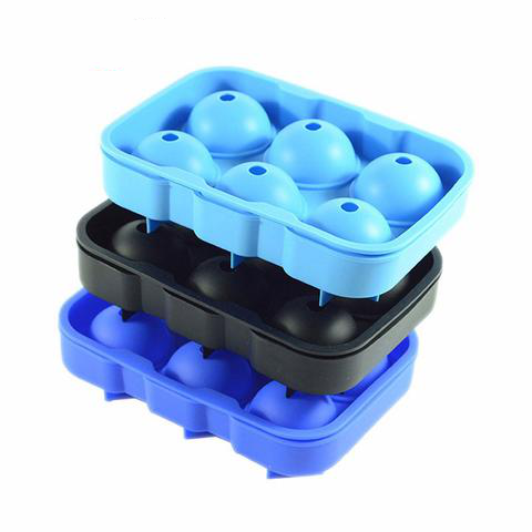 Bar Black Square Silicon Ice Molds
