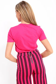Fuchsia Avenue T Shirt