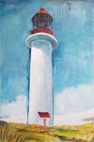 "Cape Race Lighthouse (NL), 24"" x 36"""