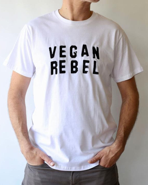 Vegan Rebel Unisex T-shirt - White
