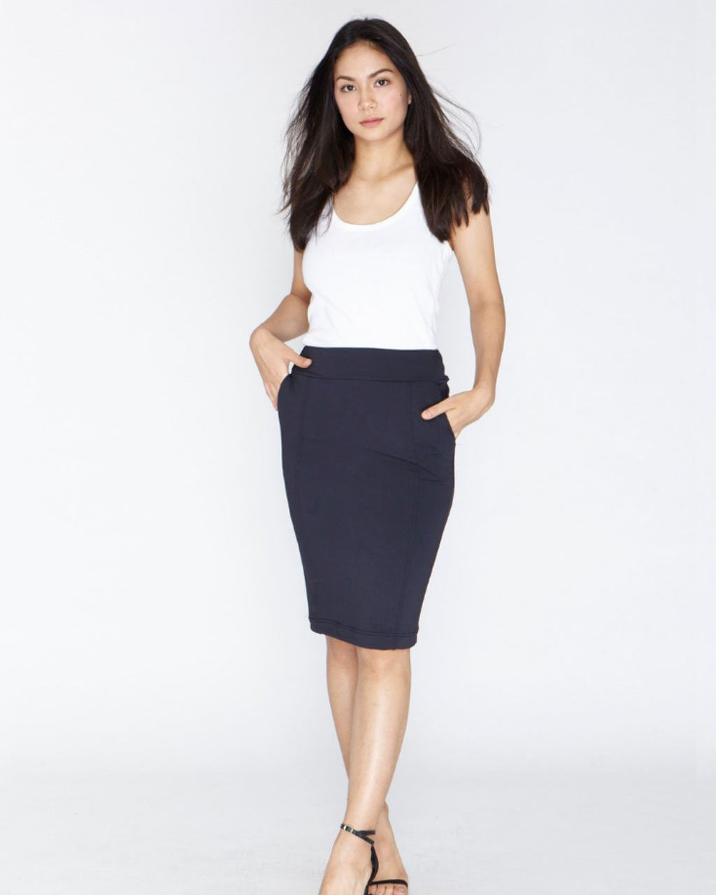 The Everyday Skirt - Onyx Black