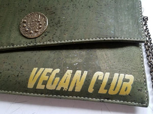 One of a Kind Luxury Wallet Collaboration Vegan Club with By Ninette