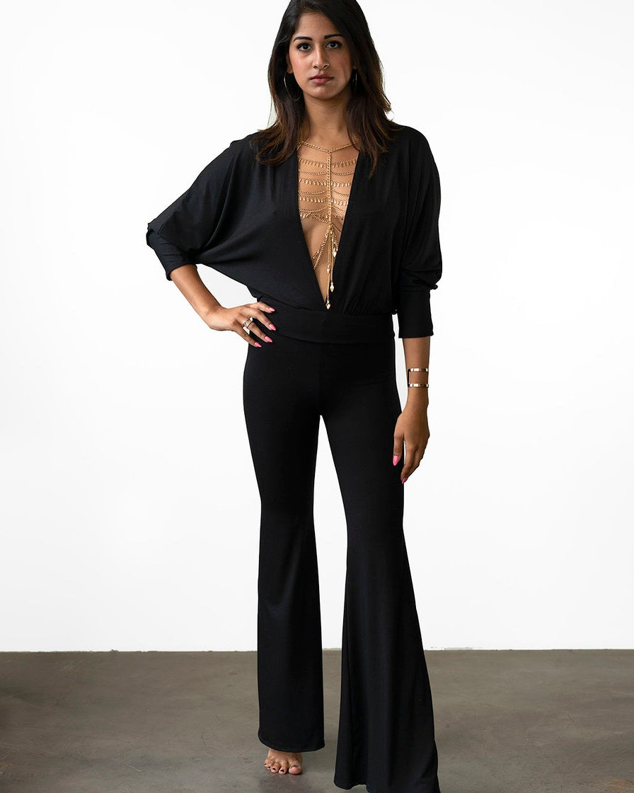 SUPERFOX JUMPSUIT - BLACK
