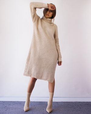 CYLLENE SWEATER DRESS