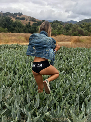 Vegan Club Booty Shorts
