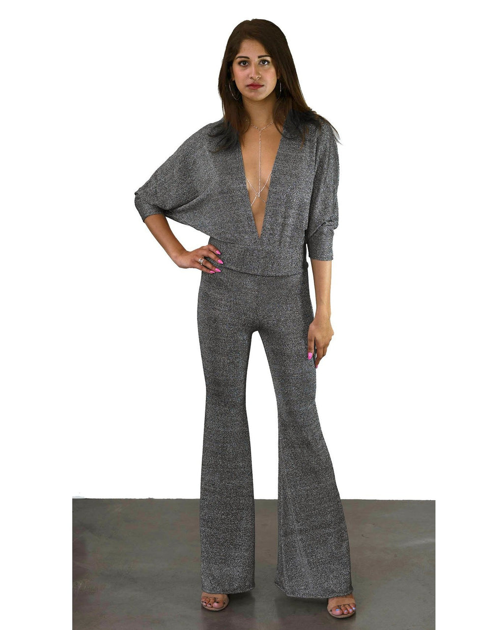 SUPERFOX JUMPSUIT - SILVER