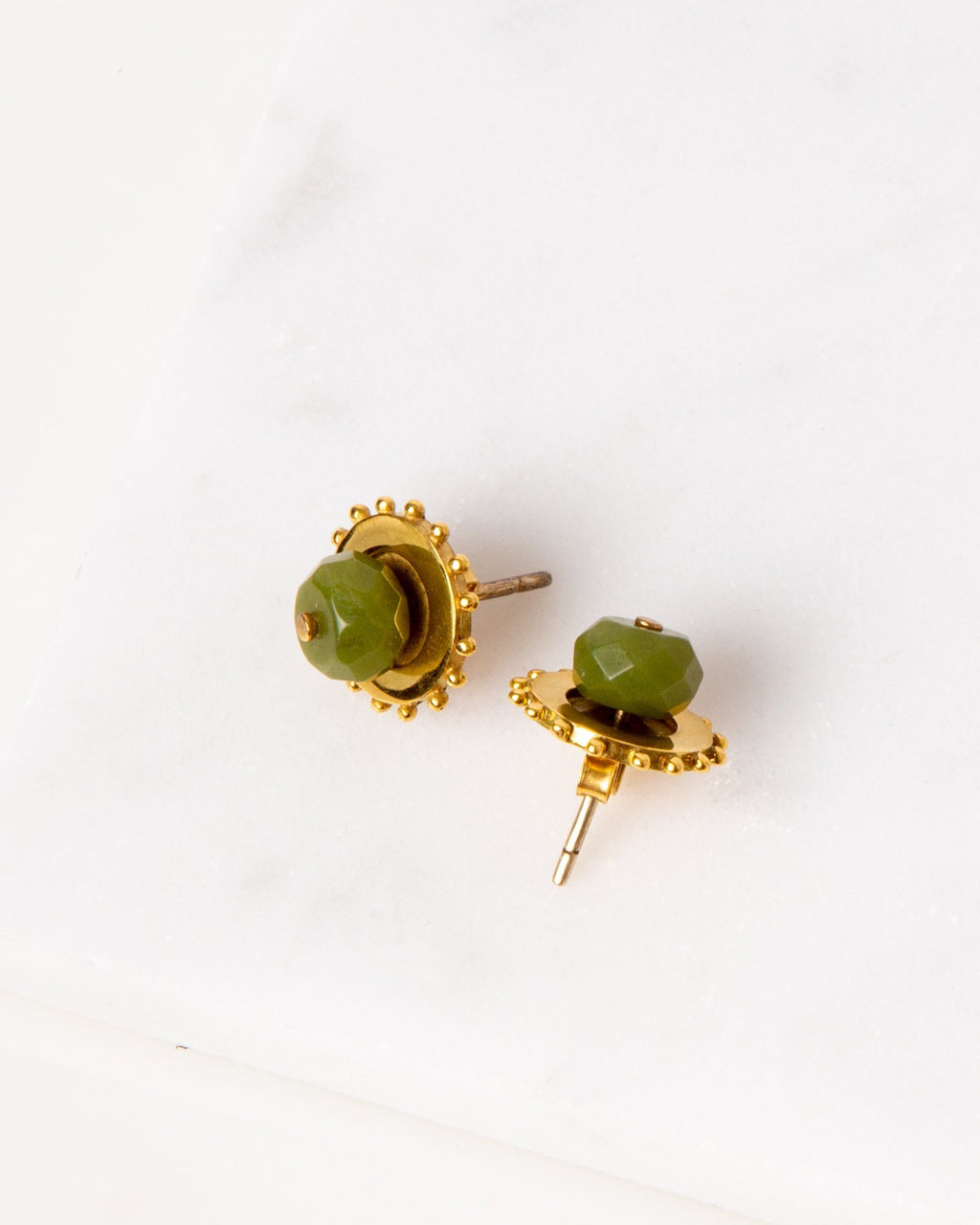 Two-Way Earrings / Jade